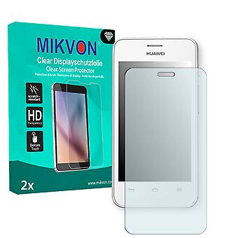 Huawei Ascend Y320 Screen Protector - Mikvon Clear (Retail Package with accessories)