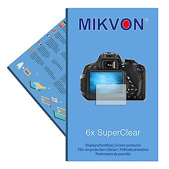 Canon EOS 700D screen protector- Mikvon films SuperClear