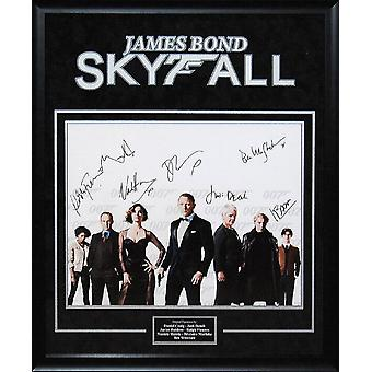 James Bond: Skyfall - Signed by Cast - Framed Artist Series