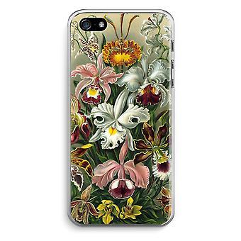 iPhone 5 / 5S / SE Transparent Case (Soft) - Haeckel Orchidae