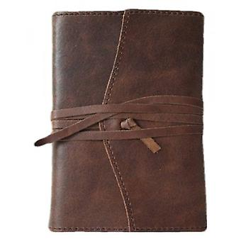 Coles Pen Company Amalfi Small Refillable Journal - Chocolate Brown