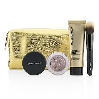 BareMinerals Take Me With You Complexion Rescue Try Me Set - # 01 Opal 3pcs+1bag