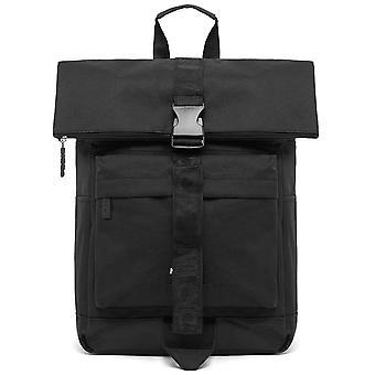 Nicce Vinnie Roll Top Backpack - Black