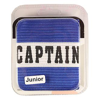 Captains Armband Captain Style Blue Junior