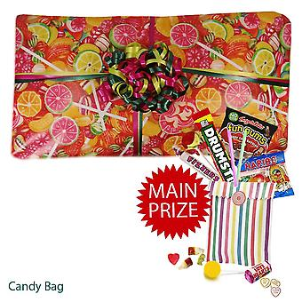 Pass the Parcel Ready Made Party Game - Sweet Packed