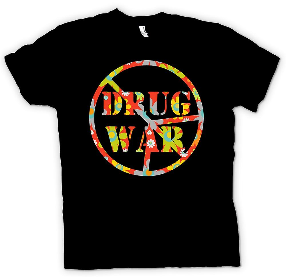 Herr T-shirt-Drug War CND fred