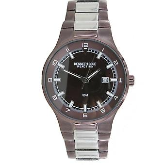 Kenneth Cole New York men's wrist watch analog stainless steel KC3623BNIP