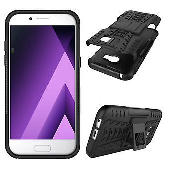 Hybrid case 2 piece SWL outdoor black for Samsung Galaxy A3 2017 A320F
