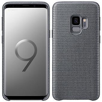 Samsung HyperKnit Cover EF-GG960FJEGWW für Galaxy S9 G960F Tasche Hülle Case Grau