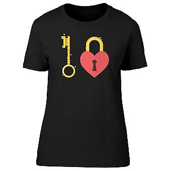 Heart With Keyhole Tee Women's -Image by Shutterstock