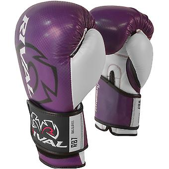 Rival Boxing RB7 Fitness+ Hook and Loop Bag Gloves - Purple/White