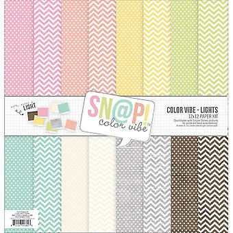 Simple Stories Double-Sided Paper Pack 12
