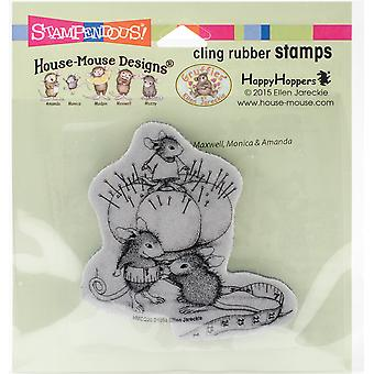 Stampendous House Mouse Cling stempel - Tiny op maat