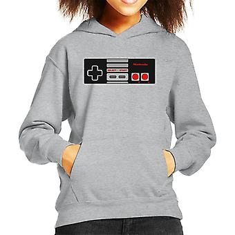 Nintendo Entertainment System Gaming Controller Kid's Hooded Sweatshirt