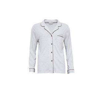 Cyberjammies 3808 Women's Erica Grey Pajama Pyjama Top