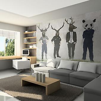 Wallpaper - Man or animal?