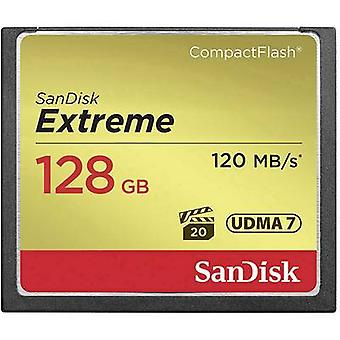CompactFlash card 128 GB SanDisk Extreme®