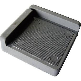 PB Fastener 121845 Anti-vibration pad Grey (L x W x H) 75 x 75 x 25 mm 1 pc(s)