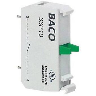 Póngase en contacto con 1 interruptor momentáneo 600 V BACO BA33P01 1 PC