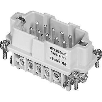 Amphenol C146 10A010 002 1 Pin Insert Amphenol C146 10A010 002 1 C146 10A010 002 1 Heavy-duty connectorsIndustrial conne