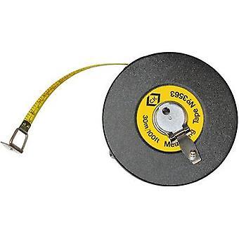 Tape measure 30 m Manufacturers standards (no certificate) Steel C.K. Class II