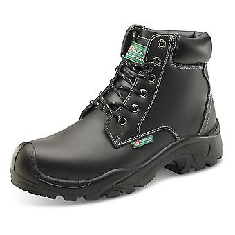 Click 6 Eyelet Pur Safety Boot Black S3 - Cf60Bl