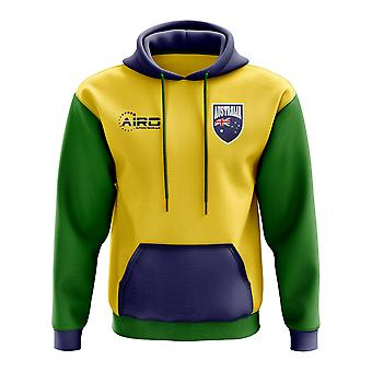 Australia Concept Country Football Hoody (Yellow)