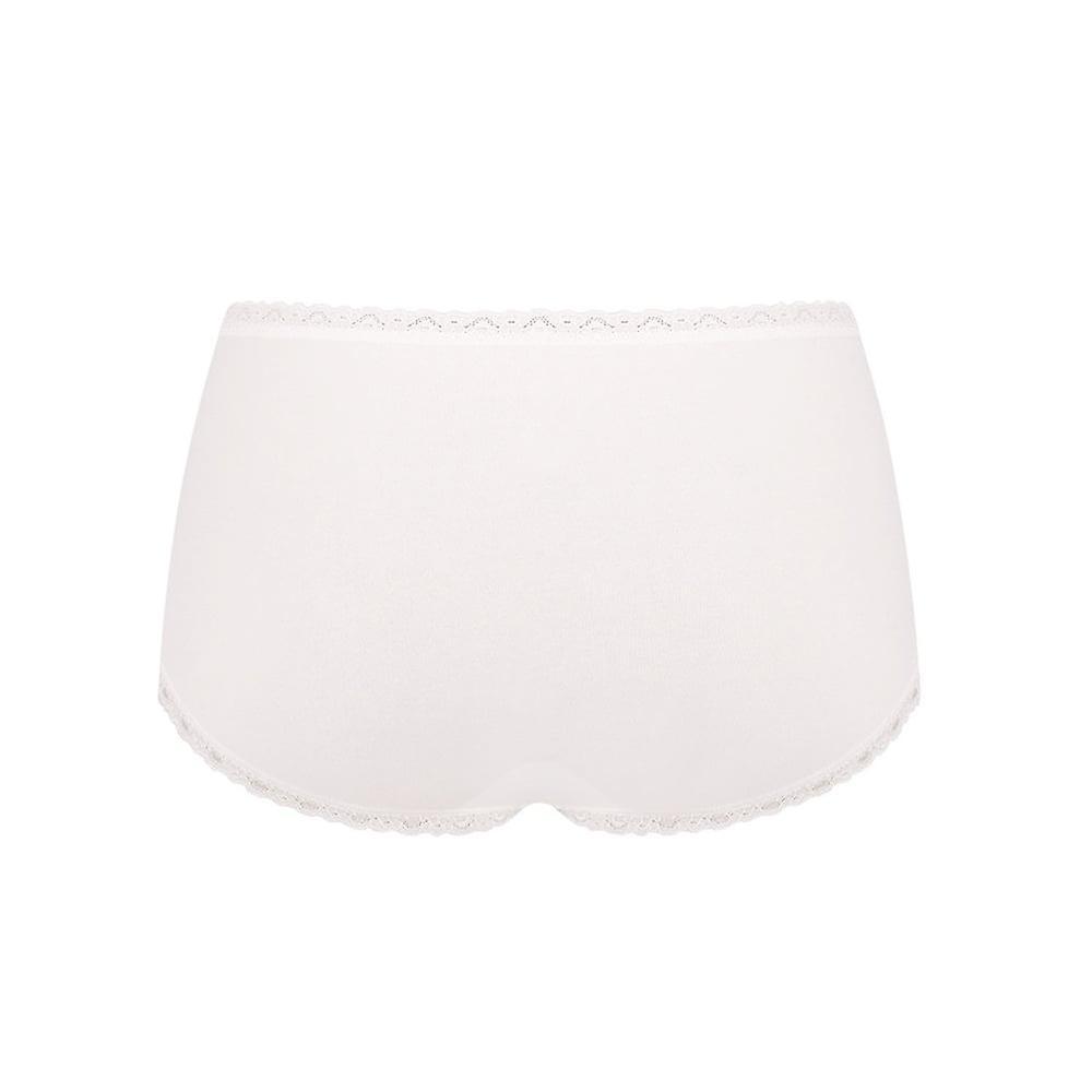 f88bd18629e1 Sloggi 24/7 Cotton Lace Midi Briefs White 3 Pack | Fruugo