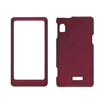 Soft Touch Case for Motorola Droid 2 A955, A954 - Red