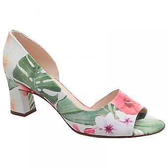 Peter Kaiser Elana Side Out Tropical Print Court Shoe