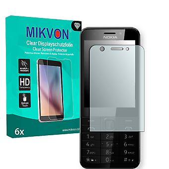 Microsoft Nokia 230 Screen Protector - Mikvon Clear (Retail Package with accessories)