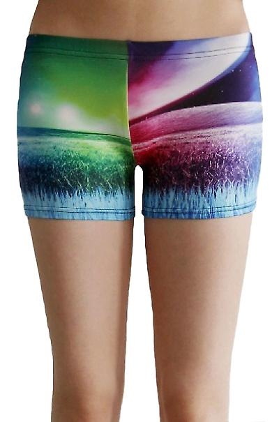 Waooh - Fashion - Shorty printed universe and landscape