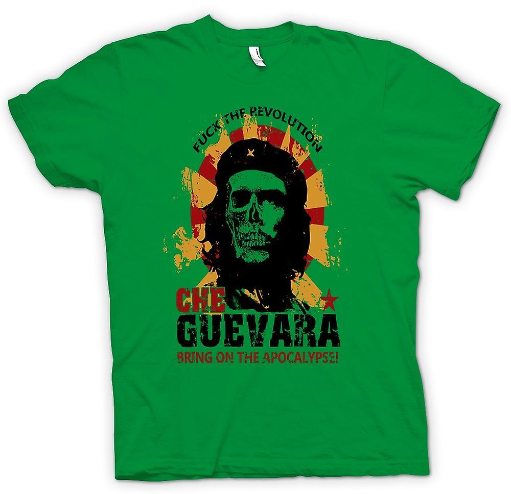 Mens t-skjorte - Che Guevara - Apocalypse - kommunismen