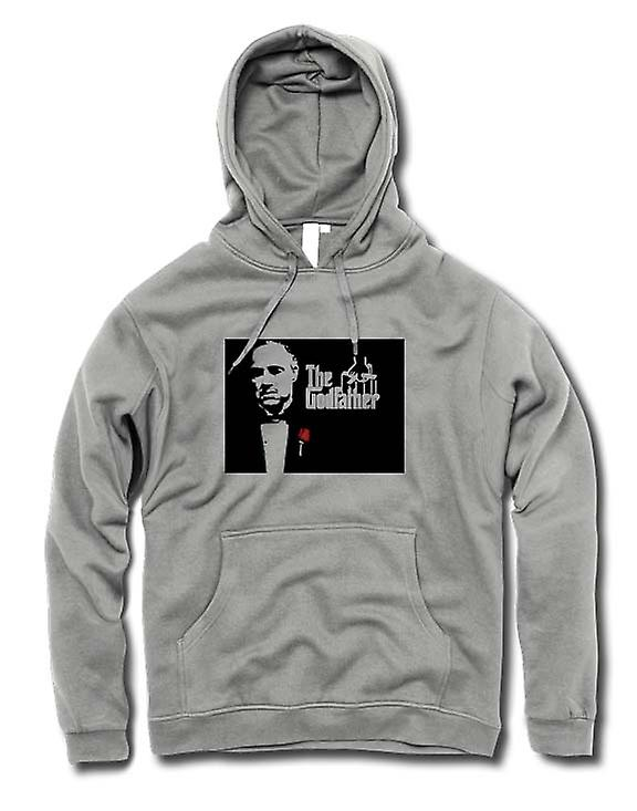 Mens Hoodie - The Godfather - Brando - Mafia