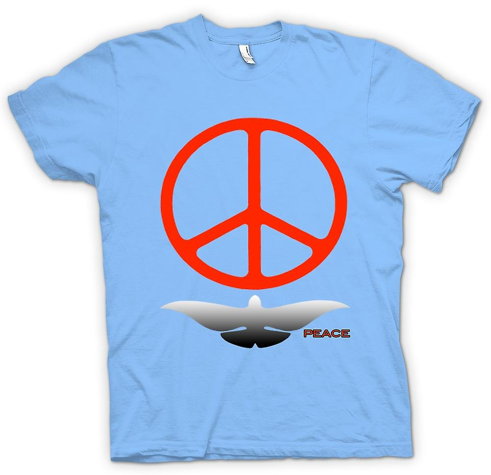 Mens T-shirt - Greenpeace Love Dove CND