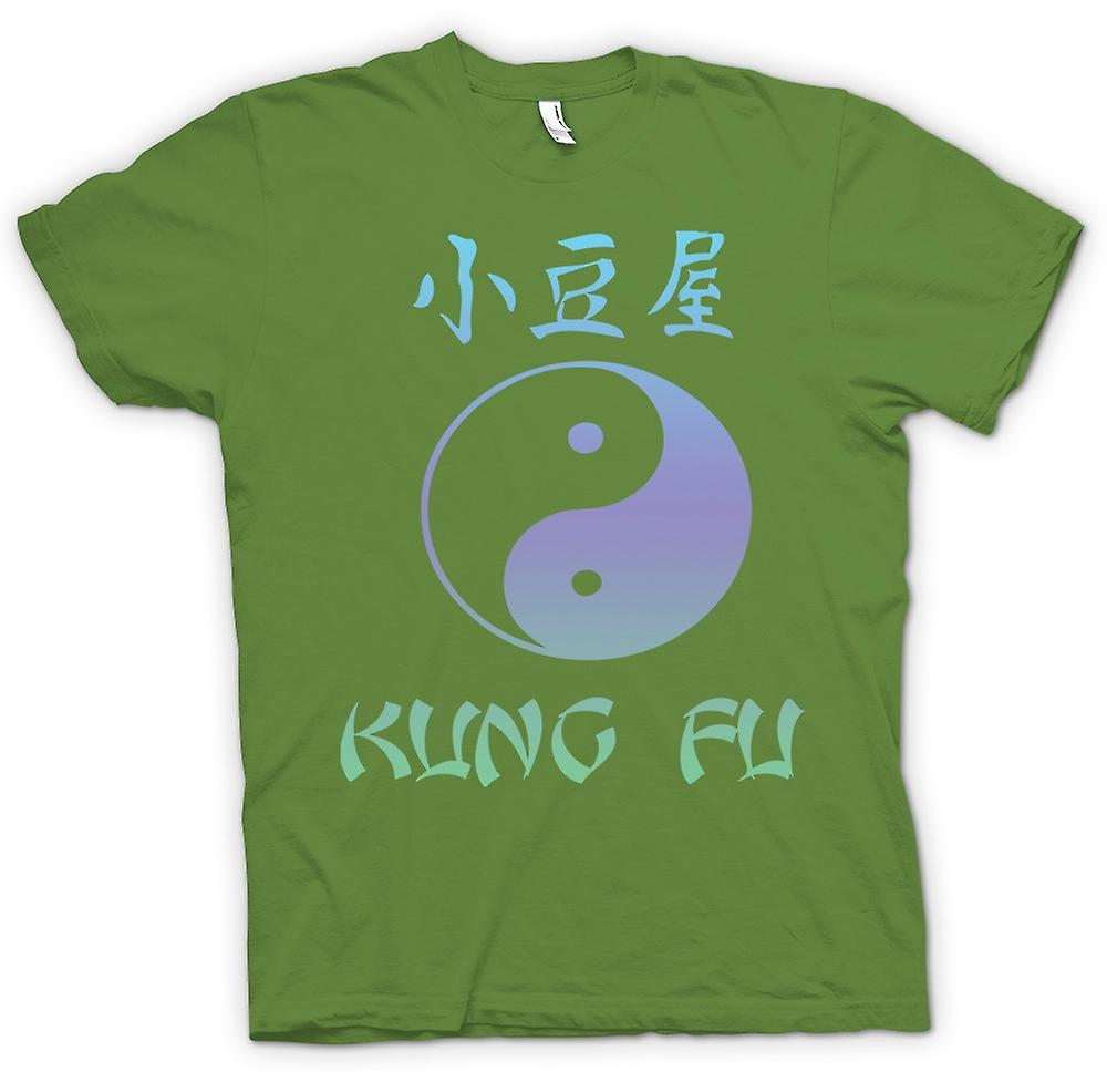 Herr T-shirt - Kung Fu - Ying Yang