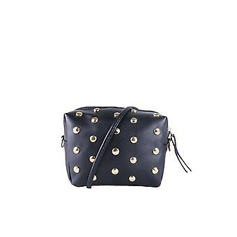 Lovemystyle Box-Seitentasche mit goldenen Nieten In schwarz