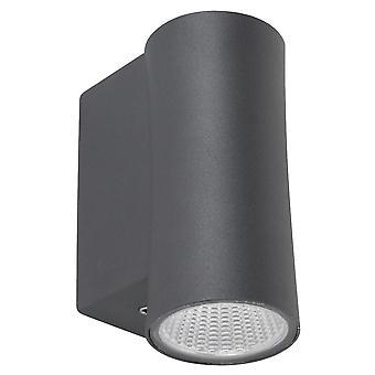 Spotpro Downlight wandlamp LED 3000K - antraciet