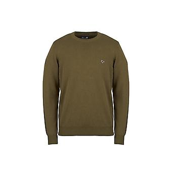 Weekend Offender Mitchell Green Crew Neck Sweater