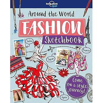 Autour du monde Fashion Sketchbook (Lonely Planet Kids)