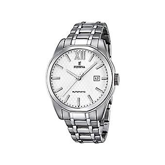 Festina men's watch with STAINLESS steel bracelet silver analog Display/F16884 2