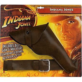 Indi Jones Gun W/Belt/Holster
