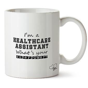 Hippowarehouse ik ben een gezondheidszorg assistent wat is uw supermacht? 10 oz mok Cup