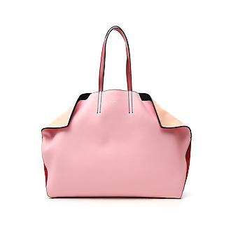Alexander Mcqueen Pink Leather Tote