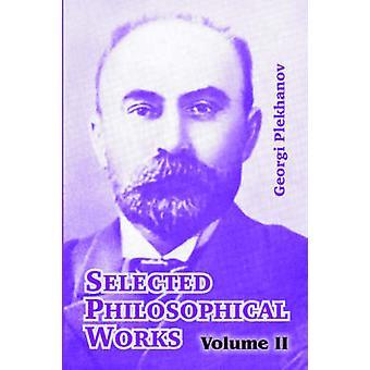 Valt filosofiska verk volym II av Plechanov & Georgi