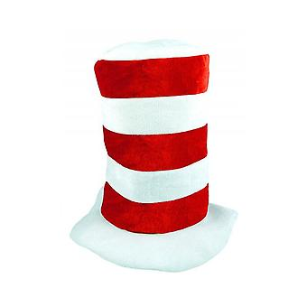 Union Jack porter haut rouge & White Stripe Hat - Angleterre