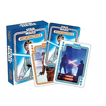Star Wars Luke Skywalker Deck of 52 Playing Cards (nm)