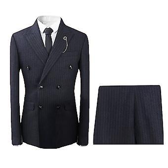 Allthemen Men's 3-Piece Suit - Slim Fit