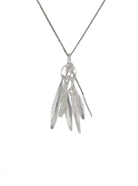 Cavendish French Silver Feathers Pendant