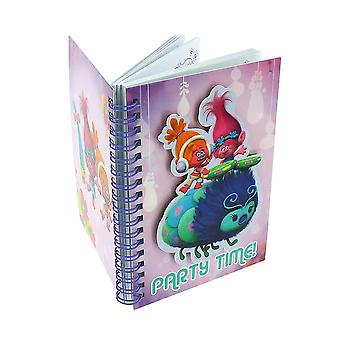 Dreamworks Trolls A6 Notebook